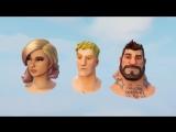 Анимация персонажей пве