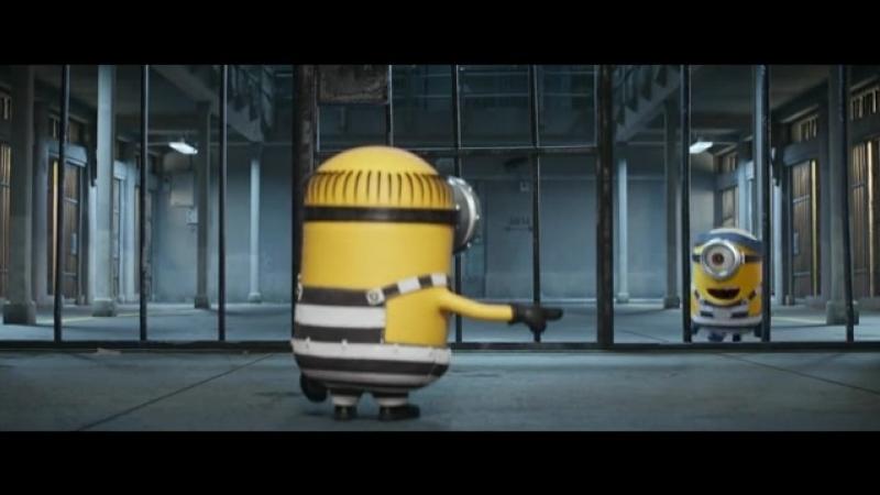 Despicable Me 3 minions in jail funny scene(480P).mp4