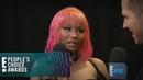Nicki Minaj Tells Why Michael B. Jordan Is on Her Mind   E! People's Choice Awards