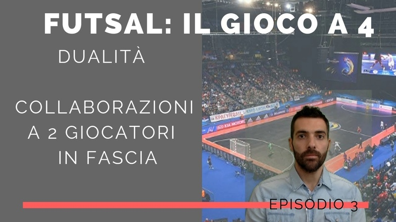 Tattica Futsal: Futsal 4-0 - Il gioco a 4 - Le 8 collaborazioni a due (dualidad futsal) EP.3