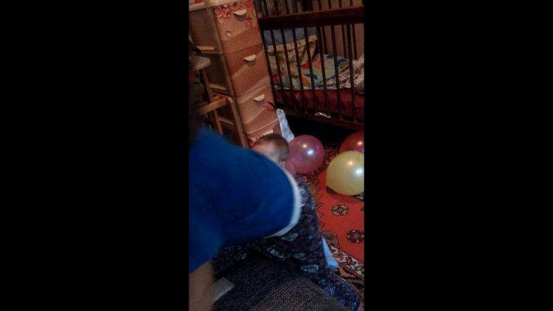 подарила шарики