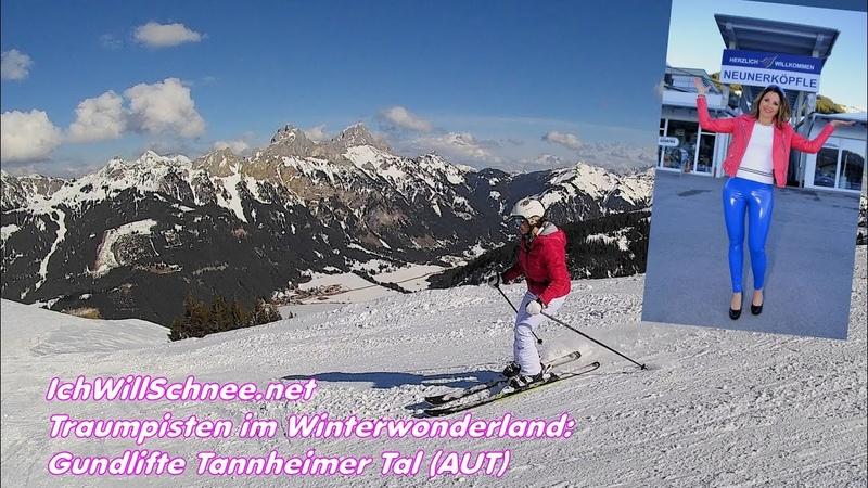 Gundlifte Tannheimer Tal (AUT) - Traumpisten im Winterwonderland.