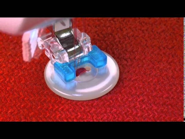 SINGER® Button Sewing Presser Foot Tutorial