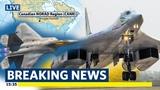 US F-22 Raptor &amp Canadian CF-188 Hornet scramble to intercept Russian Tu-160 bombers over Canada