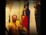 Москва гуляет после победы сборной России над испанцами