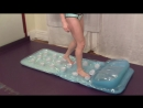 Inflatable Mattress Jump Pops A Four