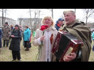 Поздравление от Василия Гулина и Лидии Вещагиной к Празднику Победы видеооператор Владимр Смелов