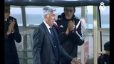 Ancelotti imitates Cristiano Ronaldo - Funny - CR7