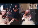Скрипичное шоу на свадьбу юбилей и корпоратив Москва дуэт скрипачек заказать
