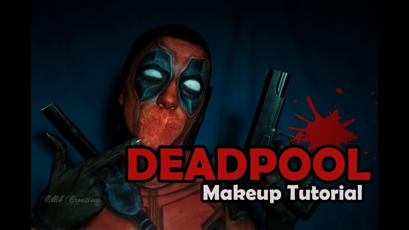 Deadpool - Makeup tutorial / Ellik Creations
