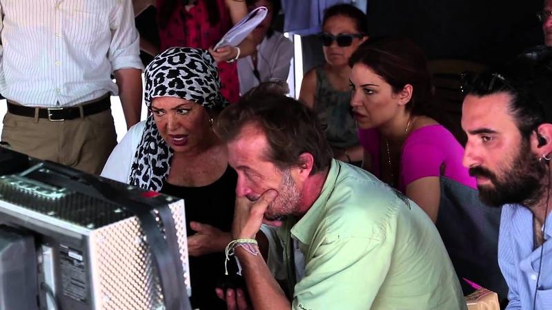 Temiz Magazin Uzaklarda Arama Filmi Kamera Arkası