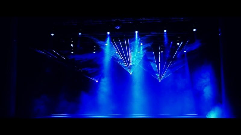 Лазерное шоу на отчетном концерте Violet dance club от SanAntonio!