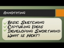 Drawing and Sketching for Beginners 007 Recording Notes Using Graphics