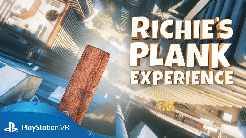 Richie's Plank Experience | Launch Trailer | PSVR