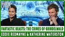 FANTASTIC BEASTS THE CRIMES OF GRINDELWALD Eddie Redmayne Katherine Waterston Interview