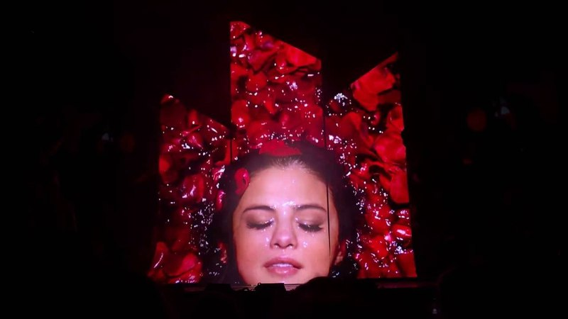 Selena Gomez - Interlude 3 - Revival Tour - 2016-06-28 - Xcel Energy Center; St. Paul