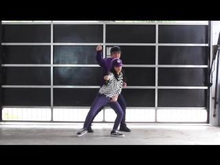 Брат с сестрой танцуют под популярные песни 2017 года