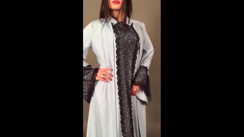 шикарное платье халат