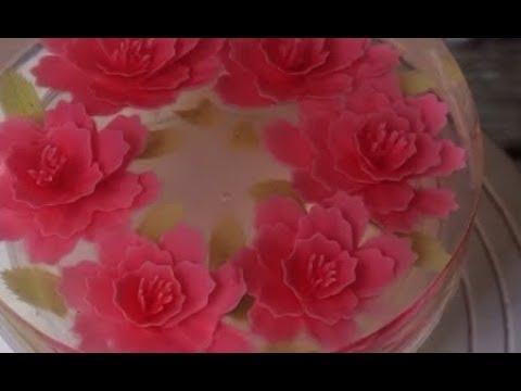 Hướng dẫn làm rau câu 3d đơn giản nhất Amazing Gelatin Art Cakes