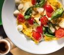 Омлет с грибами, помидорами и сыром!