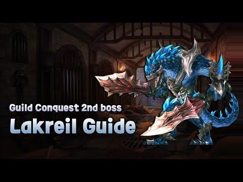 [King's raid] Guild Conquest 2nd boss Lakreil Guide » Freewka.com - Смотреть онлайн в хорощем качестве