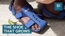How these expanding shoes are helping children in poverty