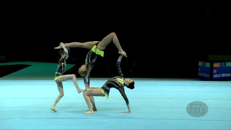 Russian Federation (RUS) - 2018 Acrobatic Worlds, Antwerpen (BEL) - Combined Women's Group