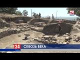 Сквозь века: Археологи изучают артефакты, найденные на раскопках античного городища Мирмекий