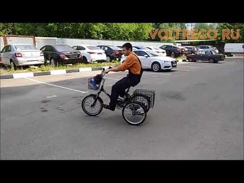 Трехколесный Электрический Велосипед Трицикл Doonkan Trike Тест Драйв Voltreco.ru