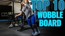 TOP 10 Wobble Board Exercises for Balance Strength