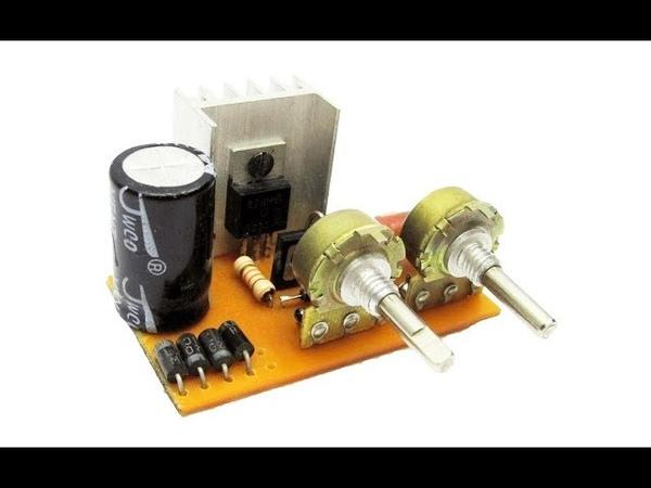 Лабораторный блок питания с регулировкой тока и напряжения