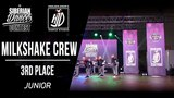 MILKSHAKE CREW | 3RD PLACE JUNIOR | SIBERIAN DANCE CONTEST 2018