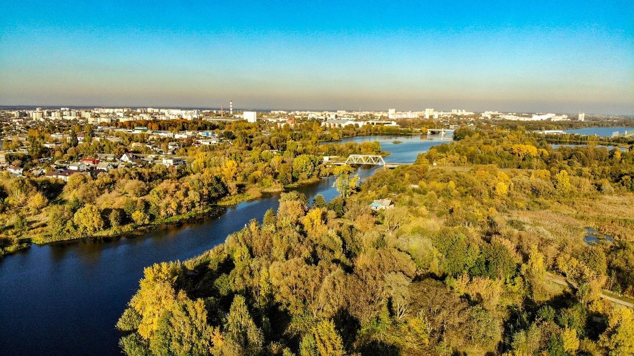 """Красивый осенний Брест в """"тёплых"""" фотографиях"""