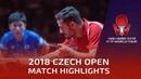Tomokazu Harimoto vs Marcos Freitas   2018 Czech Open Highlights (1/2)