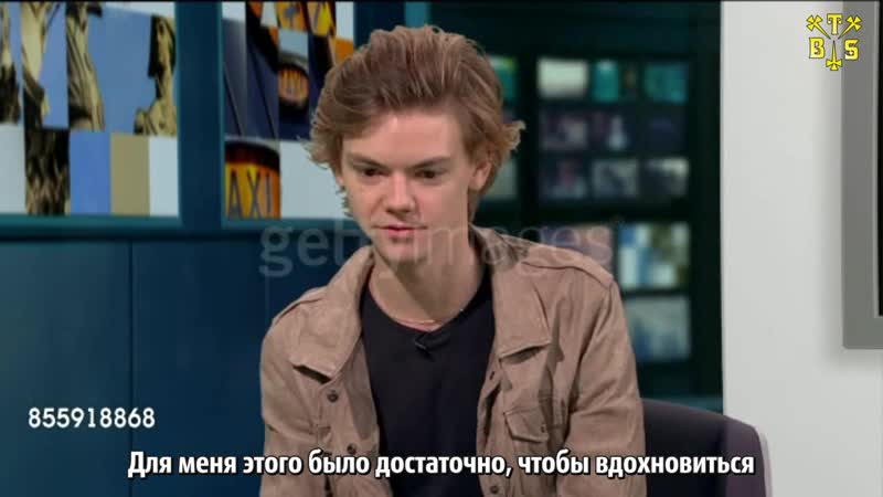 [TBSubs] Интервью ITV London о сериале Game of Thrones с Томасом (рус.саб)