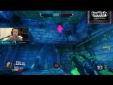 Б - Безысходность. Rapha дает инфу, куда двигается игрок с Quad Damage и его запирают миной и прыгают сверху на голову.