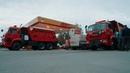 Колонна коммунальной техники отправляется в Красноярск