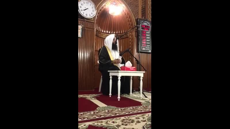 اطمئنان القلوب جزء من محاضرة الشيخ الحارث الصالح في دولة الكويت بمسجد البحر