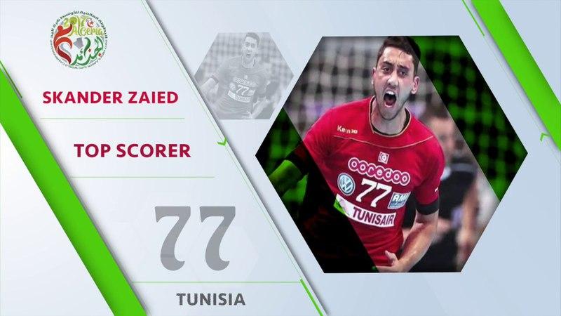 Skander Zaied (TUN) - Top scorer   IHFtv - Algeria 2017 Men's Junior WCh