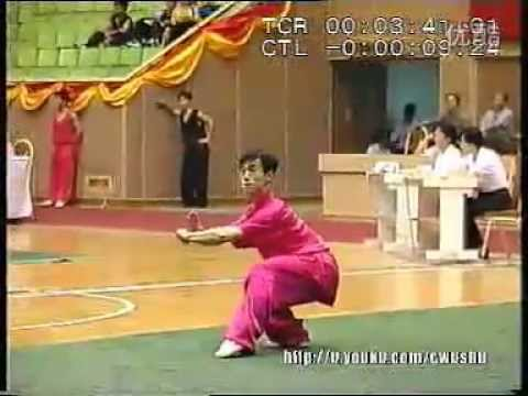 Jiang Bangjun - CQ - 1998 China Wushu Nationals
