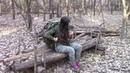 Girl Solo Hammock Camp: Solo Overnight Bushcraft Camp