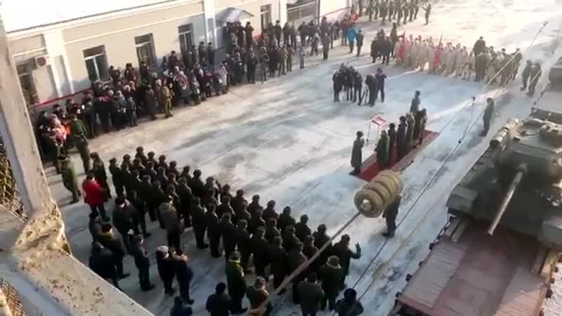 Сеанс масового онанізму кацапів на іржаві танки