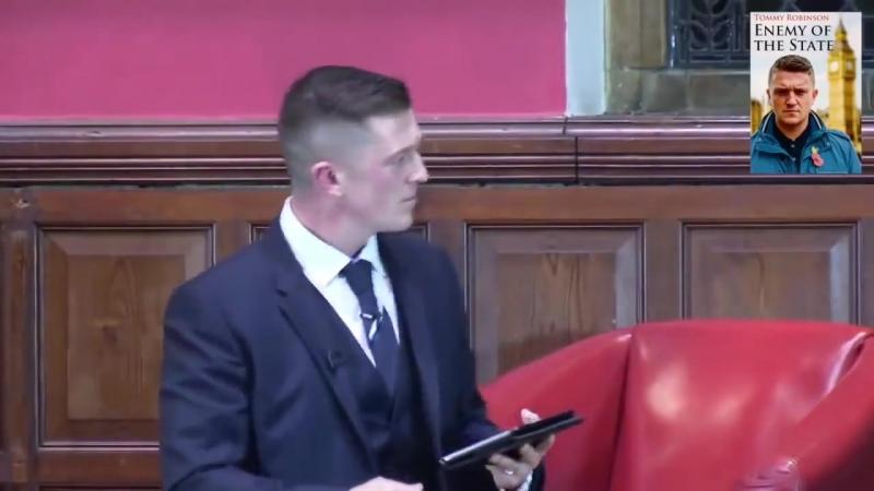 Why Tommy Robinson started EDL - speech @ Oxford U.