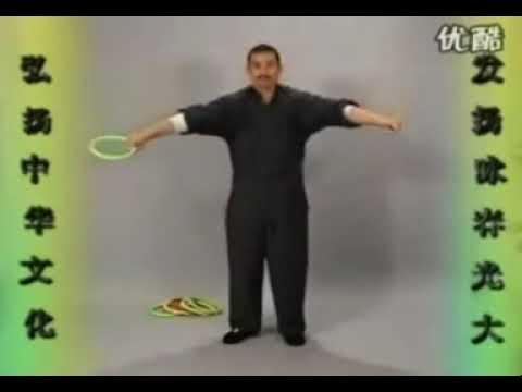 Упражнения с раттанговым кольцом Wing Chun Wang Huang Nian Yi