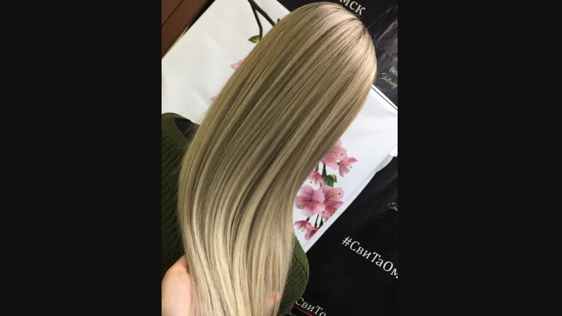 Окрашивание волос, блонд, айртач, хандач, Парикмахер универсал