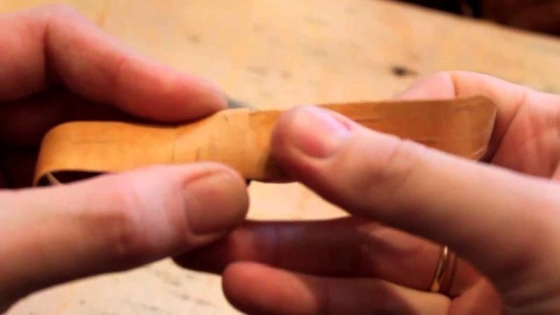 Плетение трёхгранной бусины