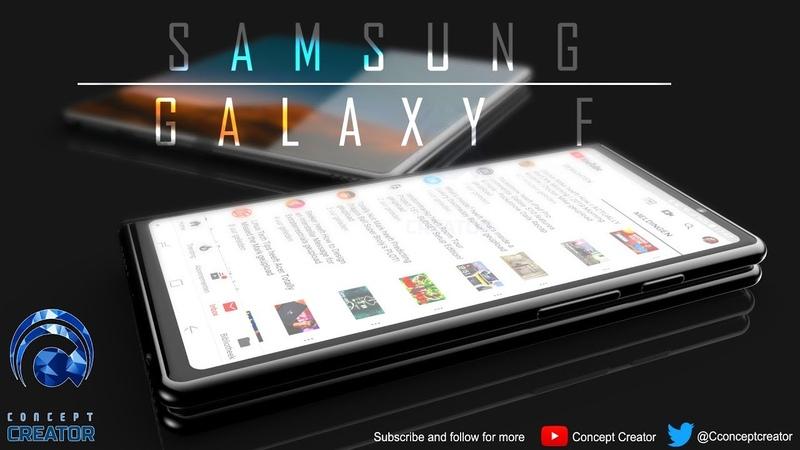 Samsung Galaxy F | Samsung's first foldable phone!