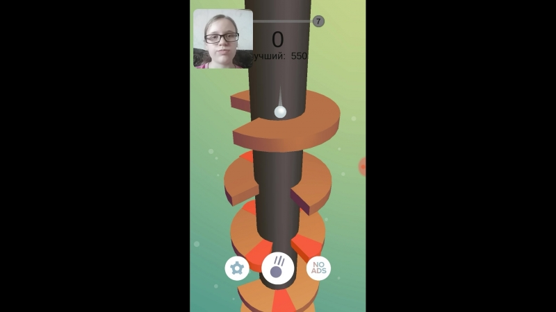играю в Helix Jump игры на телефон