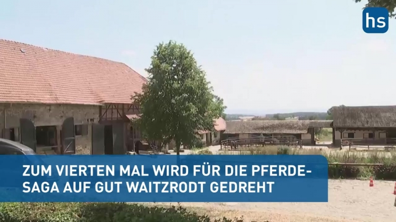 'Ostwind - Aris Ankunft' - So laufen die Dreharbeiten in Nordhessen.mp4