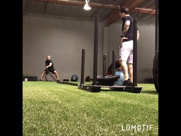 Тренировка Сергея Кузьмина в США Физическая подготовка